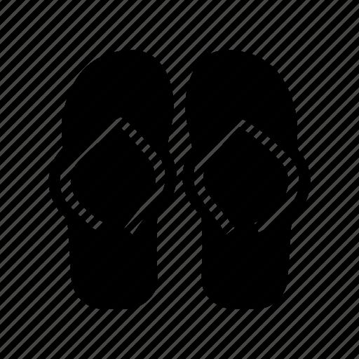 footwear, sandals, slipper, slippers icon