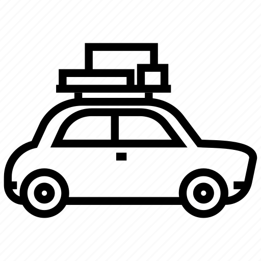 camping, car, picnic, trip icon