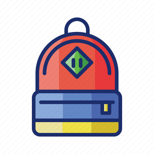 backpack, bag, luggage, travel icon