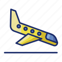 airplane, airport, flight, landing icon