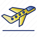 airport, flight, fly, plane