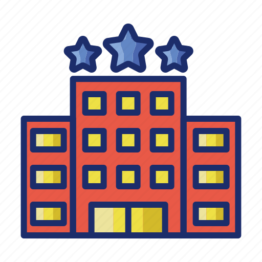 Accommodation, building, hotel, motel icon - Download on Iconfinder