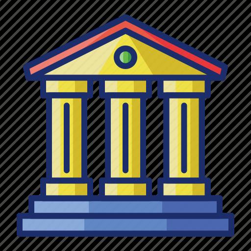 building, history, landmark, museum icon