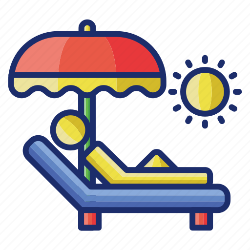 Summer, sun, tanning, vacation icon - Download on Iconfinder