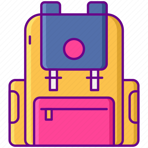 Backpack, bag, luggage, travel icon - Download on Iconfinder