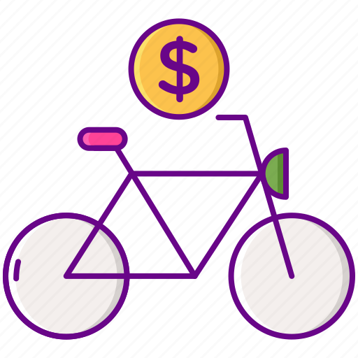 bicycle, cycling, rental, ride icon