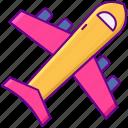 airplane, airport, flight, plane