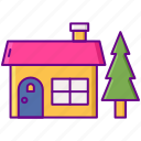 building, estate, holiday, home, house