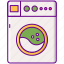 clothes, laundry, machine, washing icon