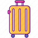 bag, baggage, luggage, suitcase icon