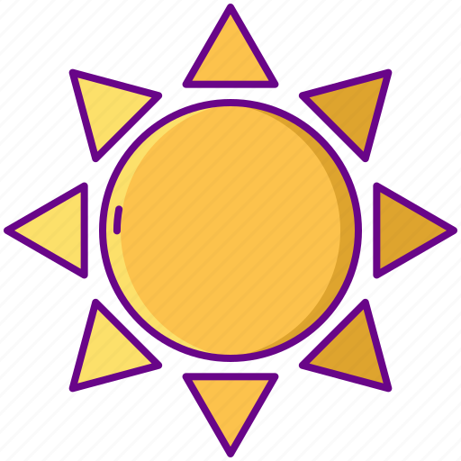 Hot, summer, sun, weather icon - Download on Iconfinder