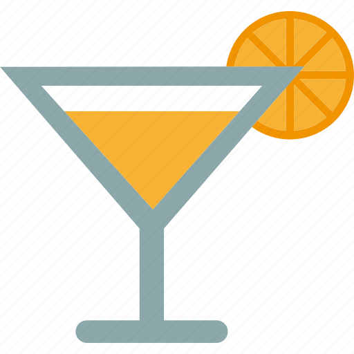 alcohol, beverage, cocktail, drink, lemon, martini icon