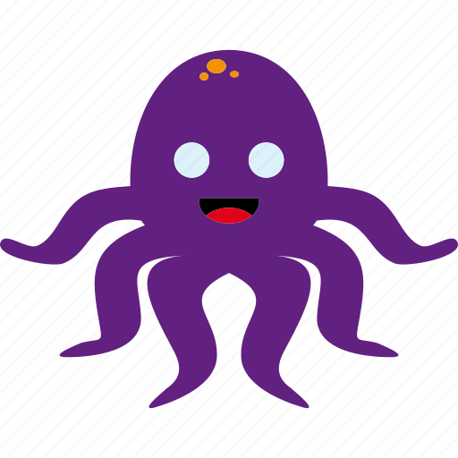 animal, cephalopod, octopus, tentacles icon