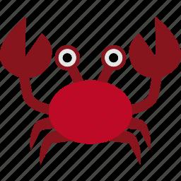 animal, crab, crustacean, krab, ocean, sea icon
