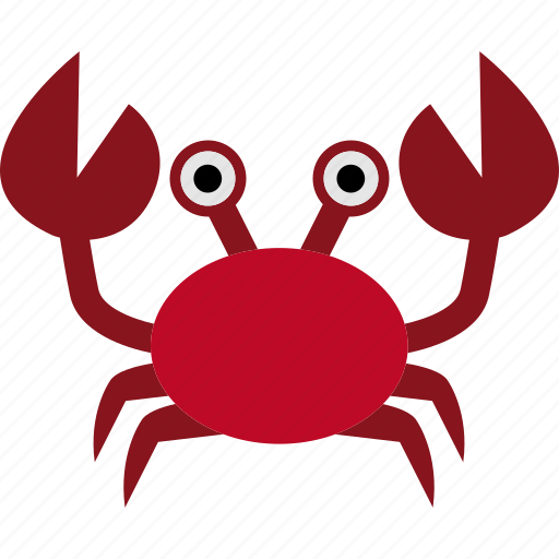 Animal, crab, crustacean, krab, ocean, sea icon - Download on Iconfinder