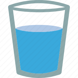 aqua, drink, glass, h2o, water icon
