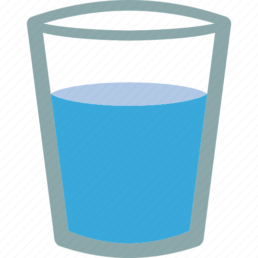 Aqua, drink, glass, h2o, water icon | Icon search engine