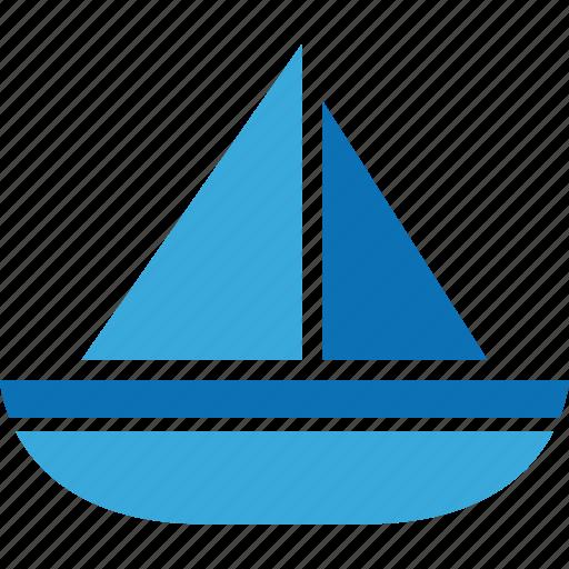 boat, ocean, sailboat, sailing, sea icon