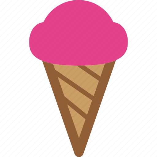 cone, cream, icecream, sweet icon