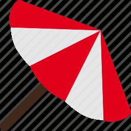 covering, parasol, shade, sunshade icon