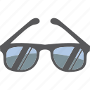 glasses, summer, sunglasses, tinted icon