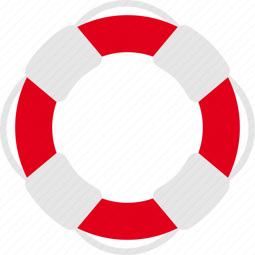 life, lifebuoy, lifeguard, safety, saver icon