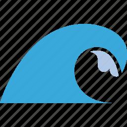 marine, nautical, ocean, sea, wave icon