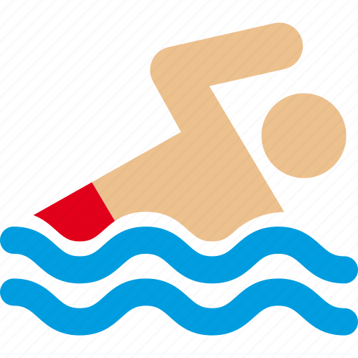 ocean, pool, swim, swimmer, swimming, water icon