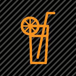 beverage, drink, fresh, glass, refreshment, summer icon
