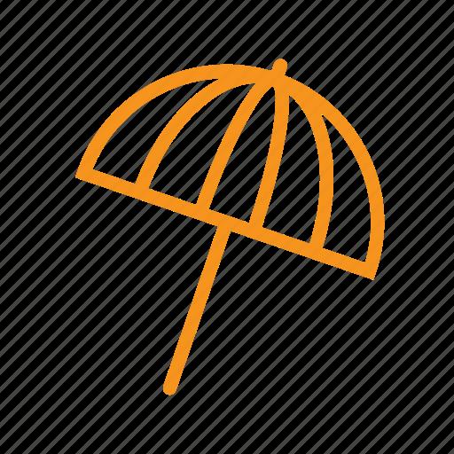 beach, protection, summer, sun, umbrella, vacation icon