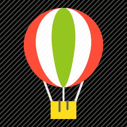 air balloon, balloon, hot air balloon, summer, transportation, vacation icon
