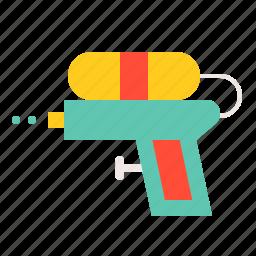 gun, summer, toy, vacation, watergun icon