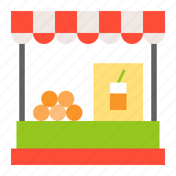 shop, stall, store, summer, vacation icon