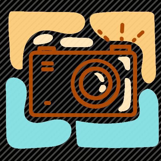 camera, holiday, shutter, summer, vacation icon