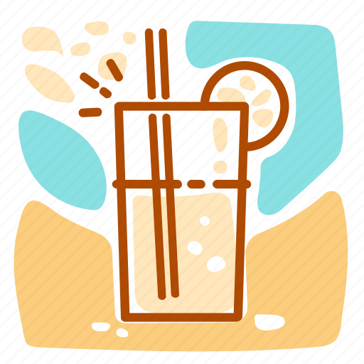 drink, holiday, summer, vacation icon