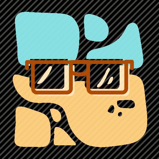 glasses, summer, sunglass, vacation icon