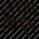 camping, entrance, holidays, outdoors, tents, vacation
