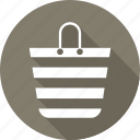 bag, shopper bag, shopping, shopping bag icon