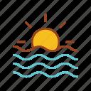 beach, holiday, ocean, sea, surfing, vacation, wave