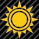 inca sun, solar sun, sun, sun rays, sun shape icon