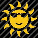 bright sun, happy summer, solar sun, summer sun, sun, sun rays