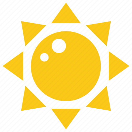 Bright sun, solar sun, sun, sun rays, sun shape icon - Download on Iconfinder