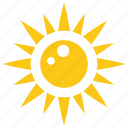 fire sun, solar sun, summer sun, sun, sunshine icon