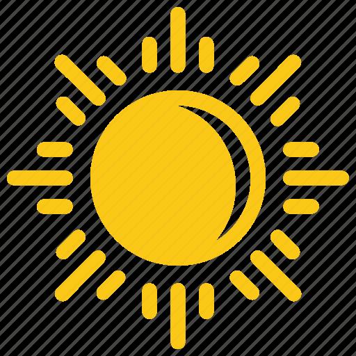 Bright sun, glaring sun, solar sun, sun, sun rays icon - Download on Iconfinder