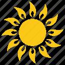 fire sun, solar sun, summer sun, sun, sunshine