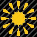 cartoon sun, sun design, sun graphic, sun petals, sunflower