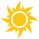solar sun, sun, sun radiation, sunrays, sunshine icon