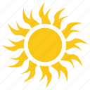 burning sun, summer sun, sun, sun radiation, sun rays icon