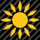 cartoon sun, sun design, sun graphic, sun petals, sunflower icon
