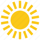 bright sun, cartoon sun, solar sun, sun, sun rays